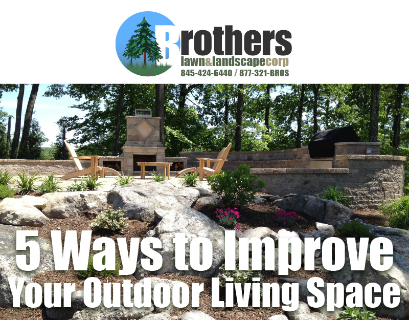 5 Ways to Improve Your Outdoor Living Space